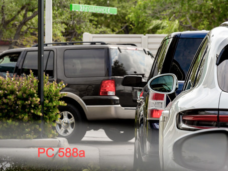 PC 588a: Throwing Objects at Moving Vehicles: Law, Punishment & Defense