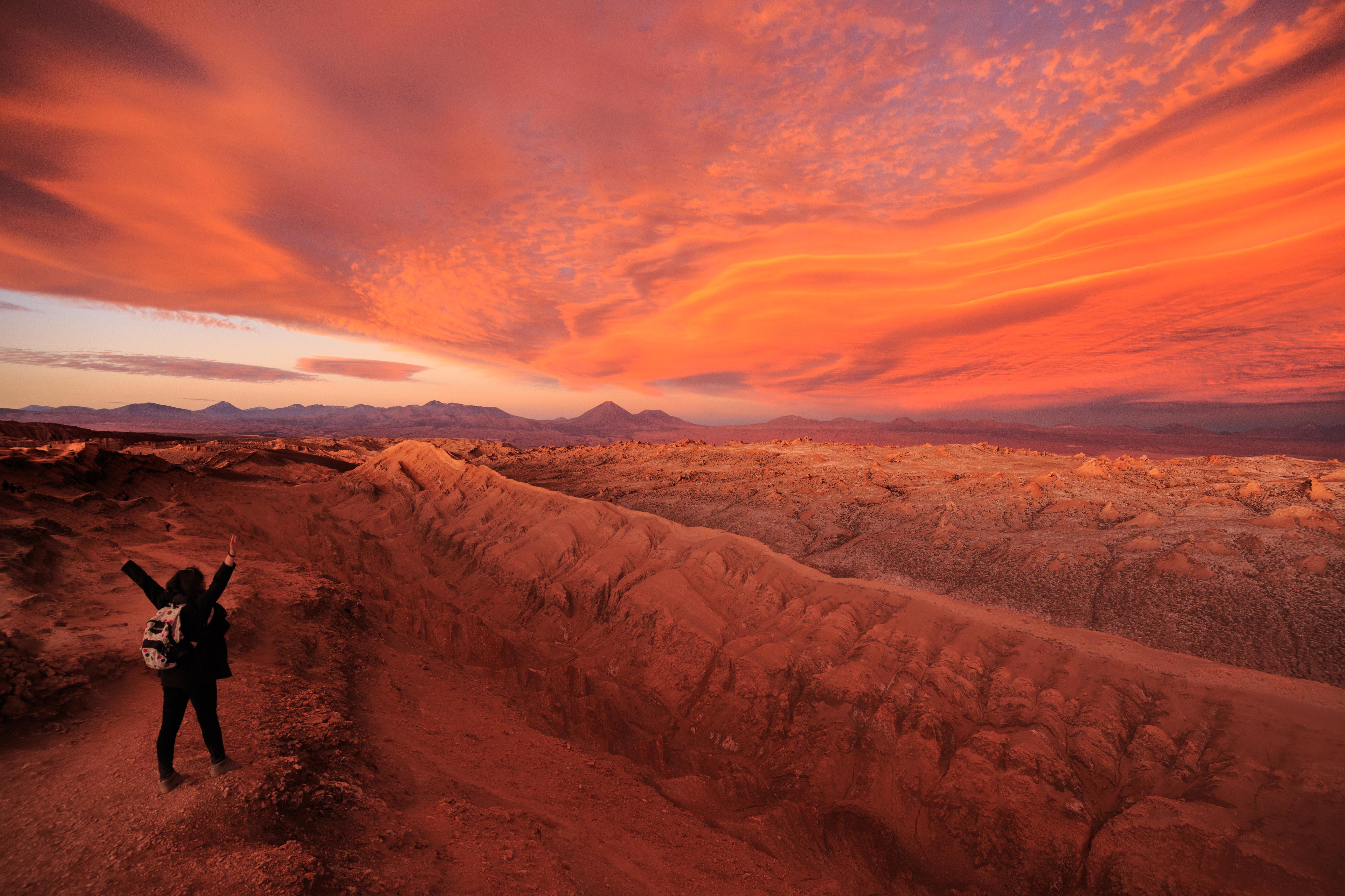Valle de la luna - San Pedro de Atacama.