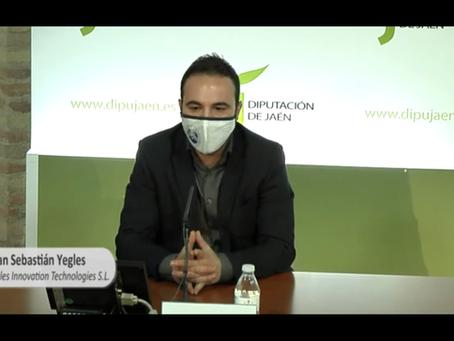 YEGLES RECIBE UNA SUBVENCION DE 10.000 EUROS DE LA DIPUTACION DE JAEN