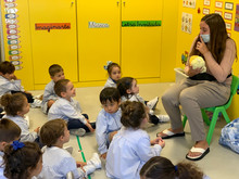 Auxiliar de conversación en Infantil