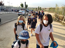 Convivencia en MULTIAVENTURA de alumnos de Primaria