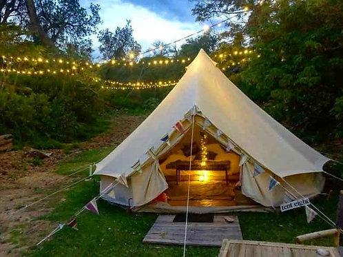 Glamping Couple+ All Meals - price for 2