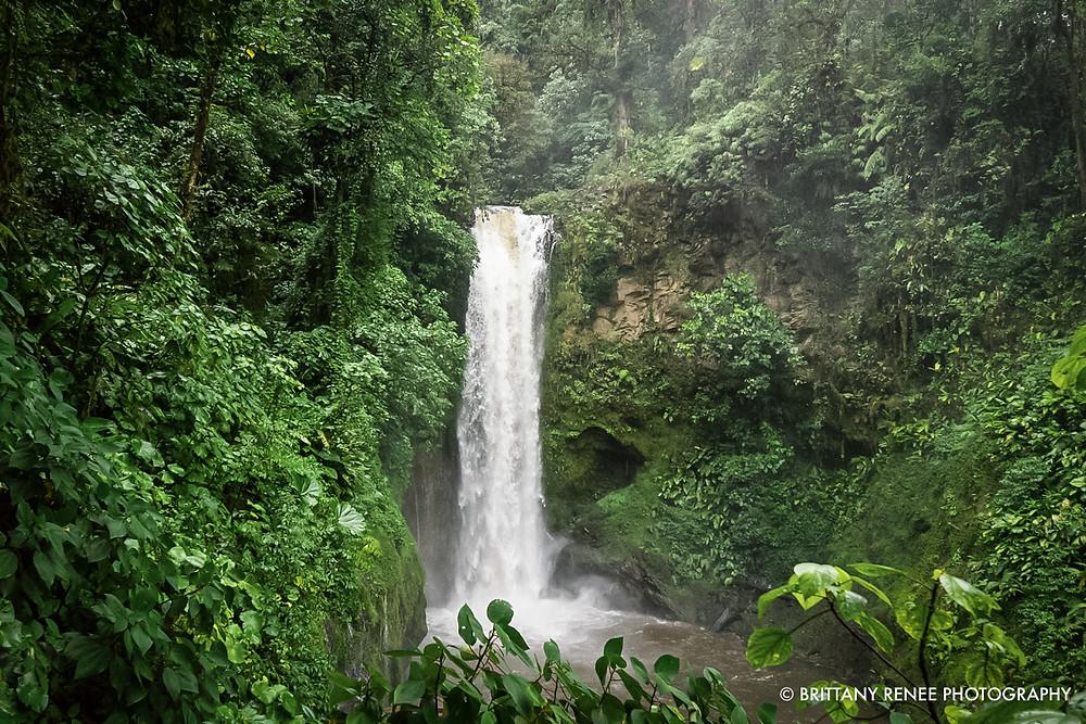 La Paz Waterfalls in San Jose, Costa Rica