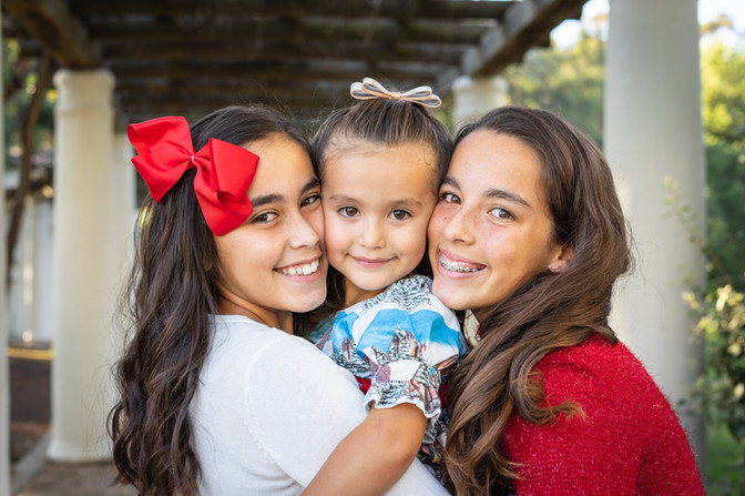 Holiday Family Photos in San Diego, California.