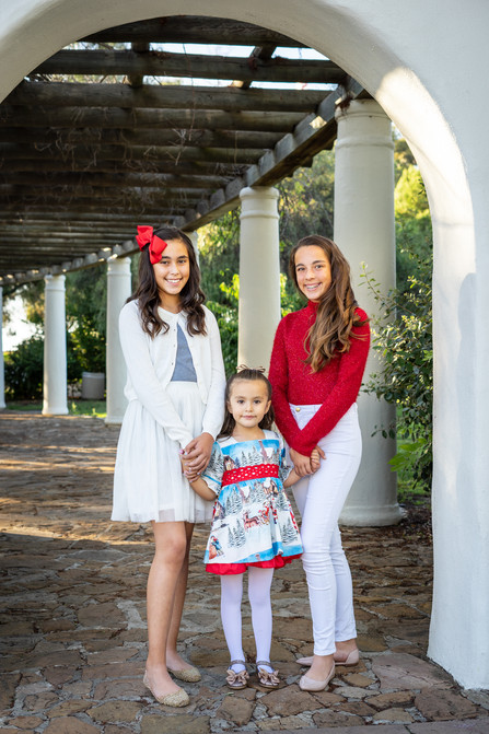 Holiday Family Photos in San Diego, California.
