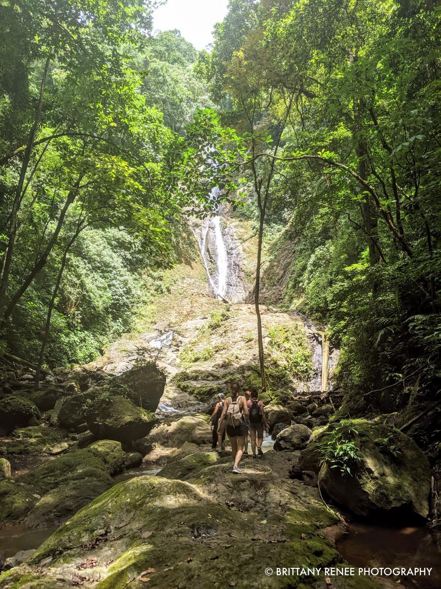 Hiking near Jaco Beach, Costa Rica