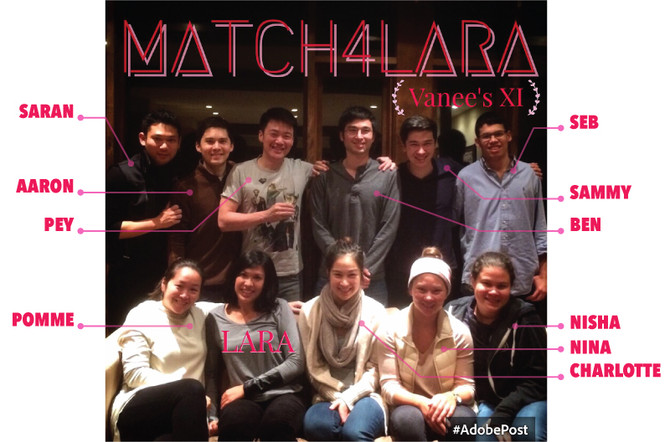 Vanee's 11 and #match4lara USA