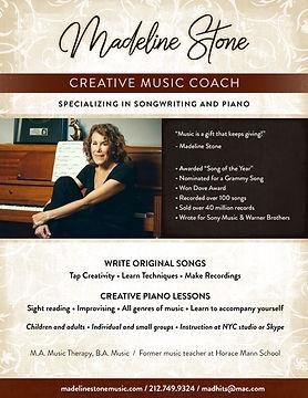 Madeline Stone - Creative Music Coach