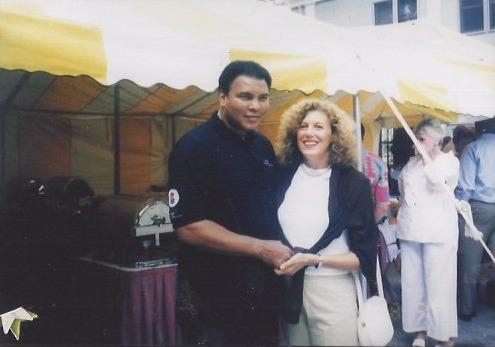 Madeline Stone & Muhammad Ali