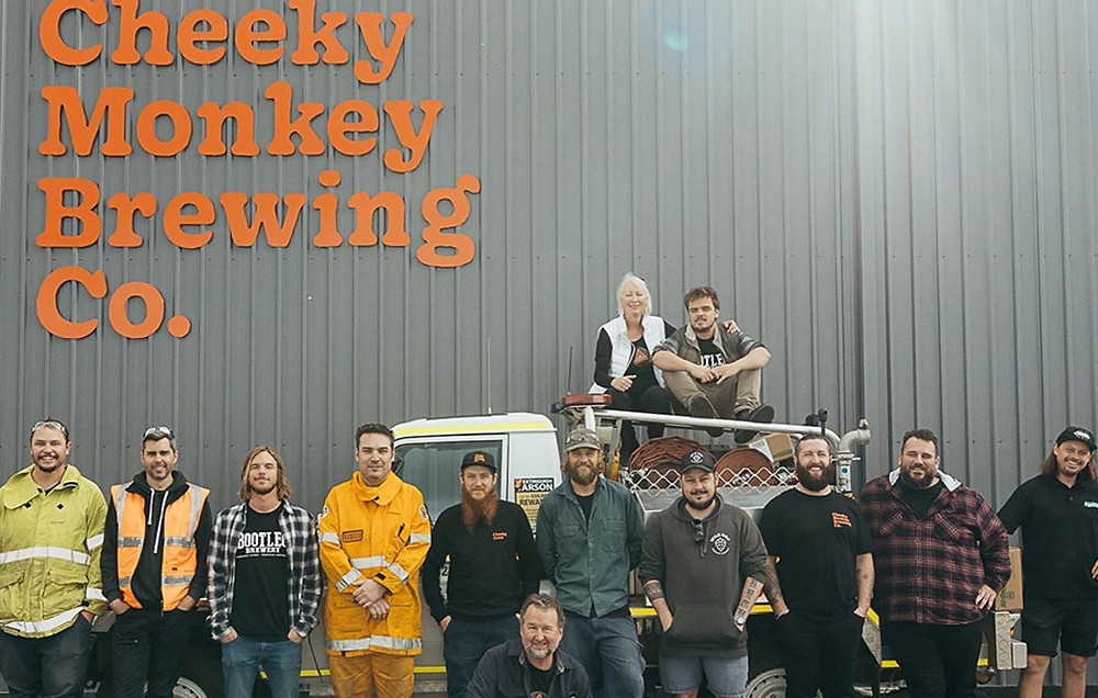 Cheeky Monkey South West Collaborative. The Sip Beer.