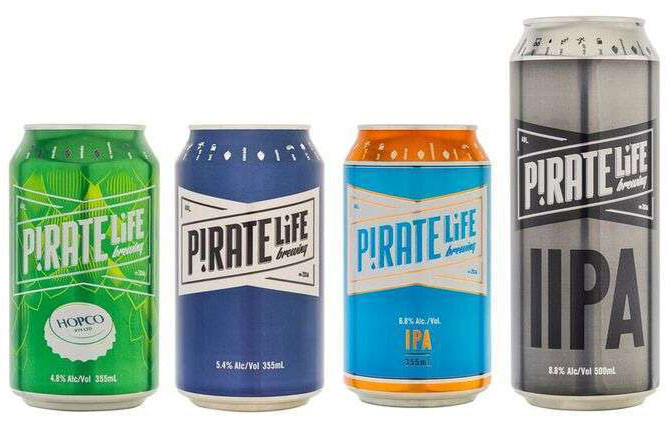 Pirate Life cans. The Sip