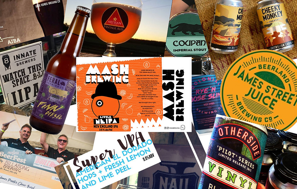 WA's top dozen news beers for 2017. The Sip