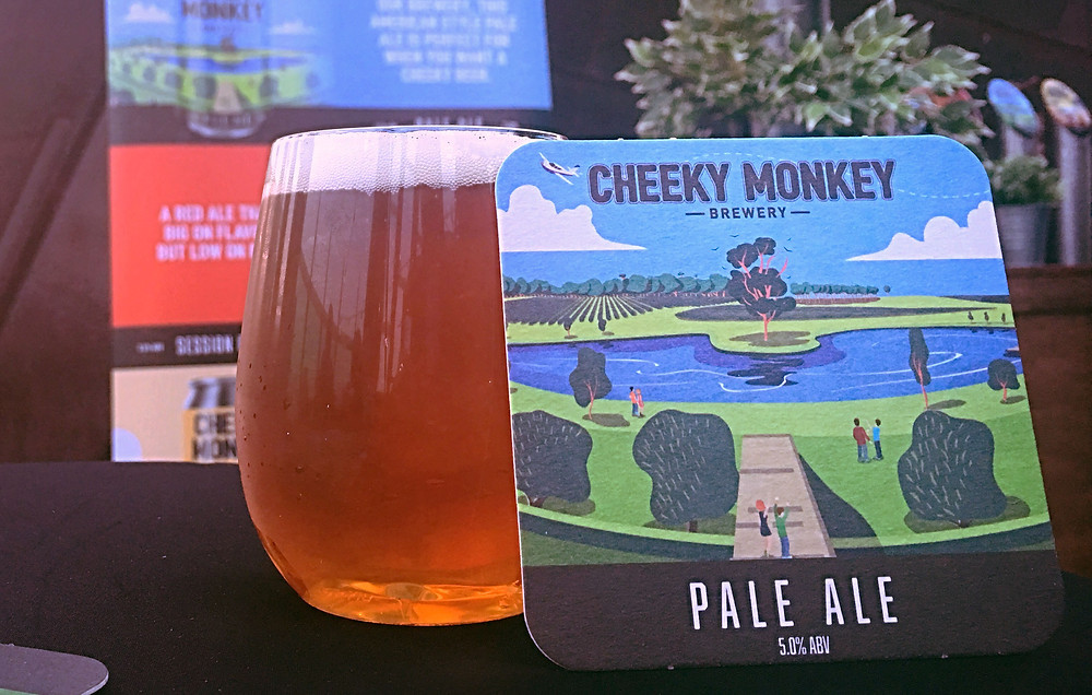Cheeky Monkey Pale Ale Singapore Airlines