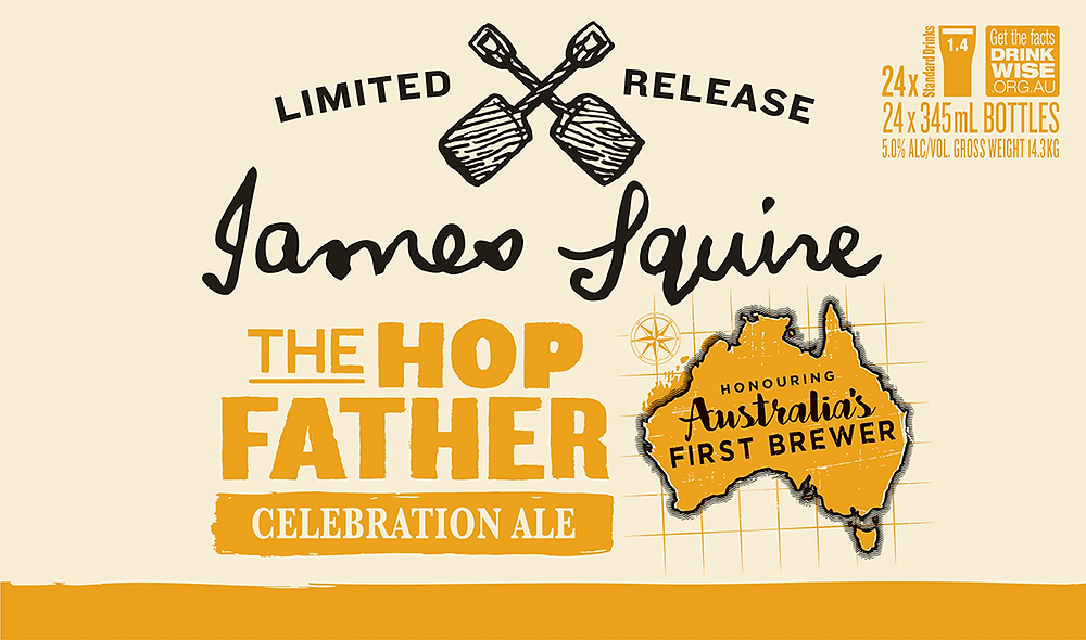 James Squire The Hop Father with The Sip