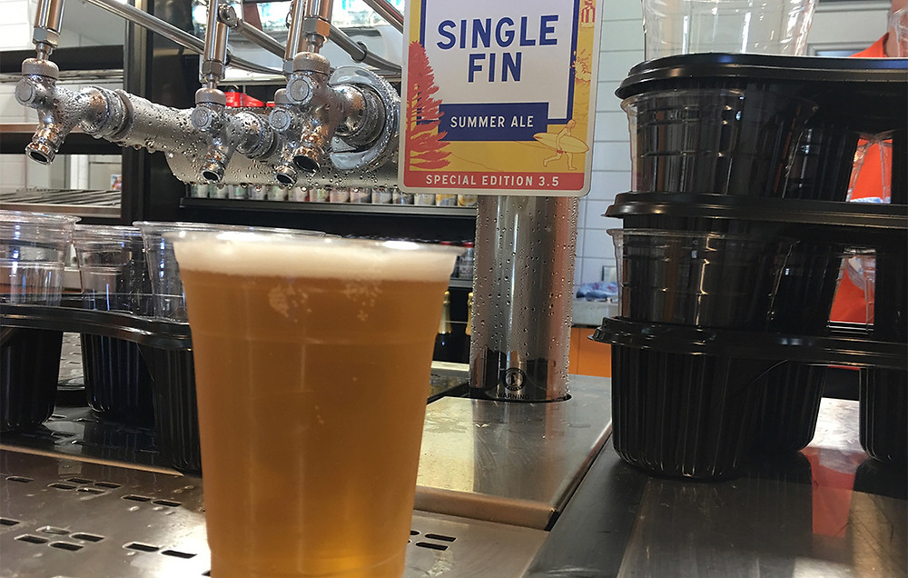 Gage Roads Single Fin 3.5%. The Sip