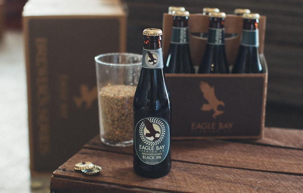 Eagle Bay Black IPA The Sip WA Beer News