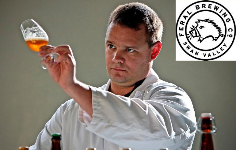 Feral Brendan Varis. The Sip Beer