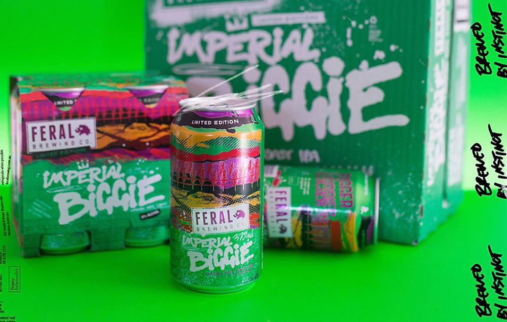 Imperial Biggie. Feral Brewing Co. The Sip Beer