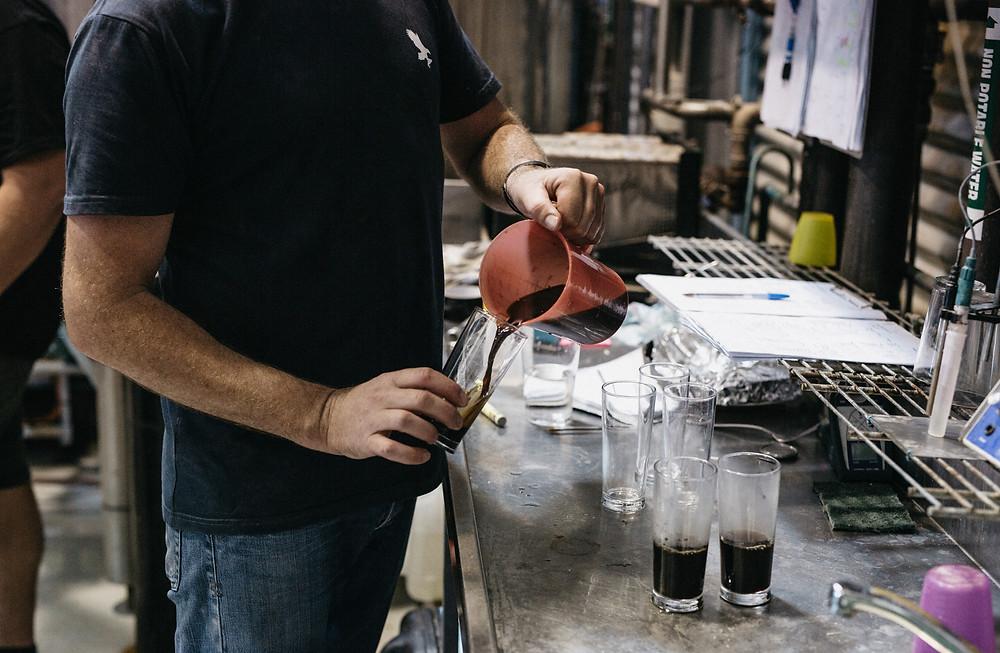 Eagle Bay Black Vanilla. The Sip Beer
