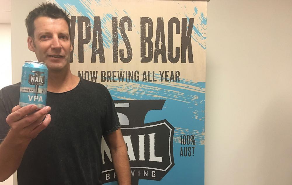 Nail VPA. John Stallwood. The Sip Beer