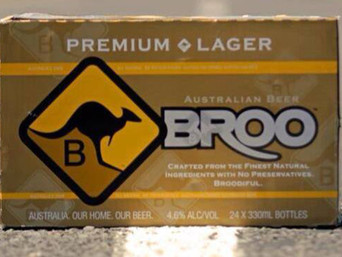 MUCH ADO ABOUT AUSSIE BEER'S BROO