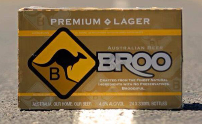 Broo Premium Lager The Sip