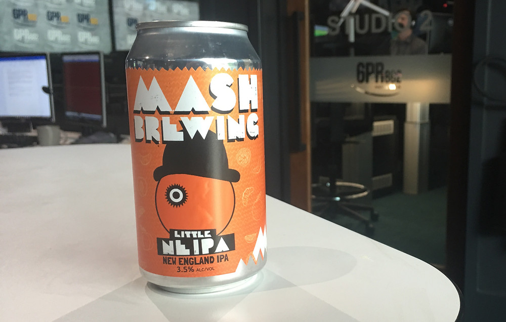 Mash Little NEIPA. The Sip Beer