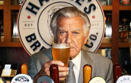 Bob Hawke beer excise. The Sip