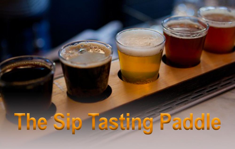The Sip Tasting Paddle