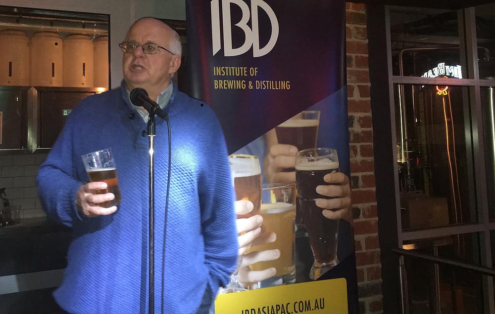 Charlie Bamforth. The Sip Beer