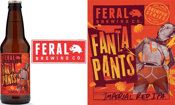 WA Beer News. Feral Fantapants IPA Bottle release. The Sip