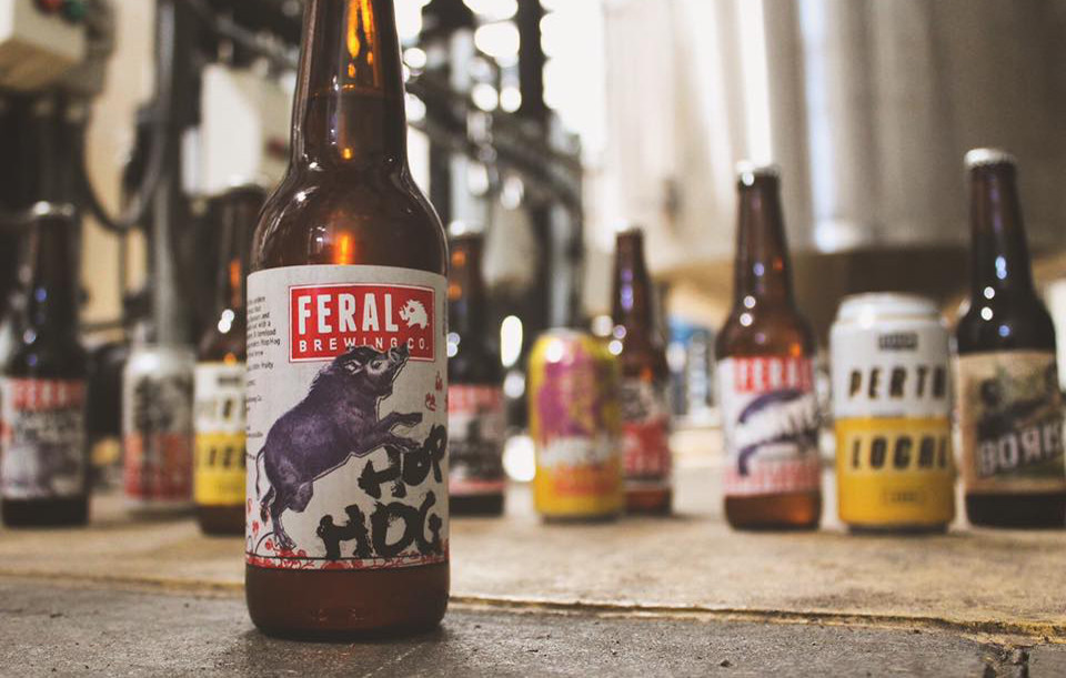 Feral brewing sell-out. The Sip Beer