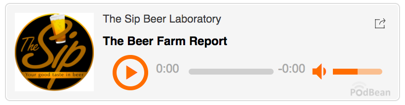 The Sip Beer Laboratory podcast.