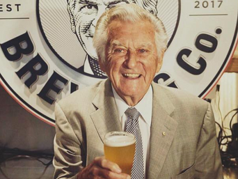 Hawke to be remembered through his own brew