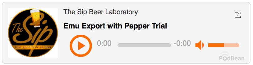 The Sip Beer Laboratory.