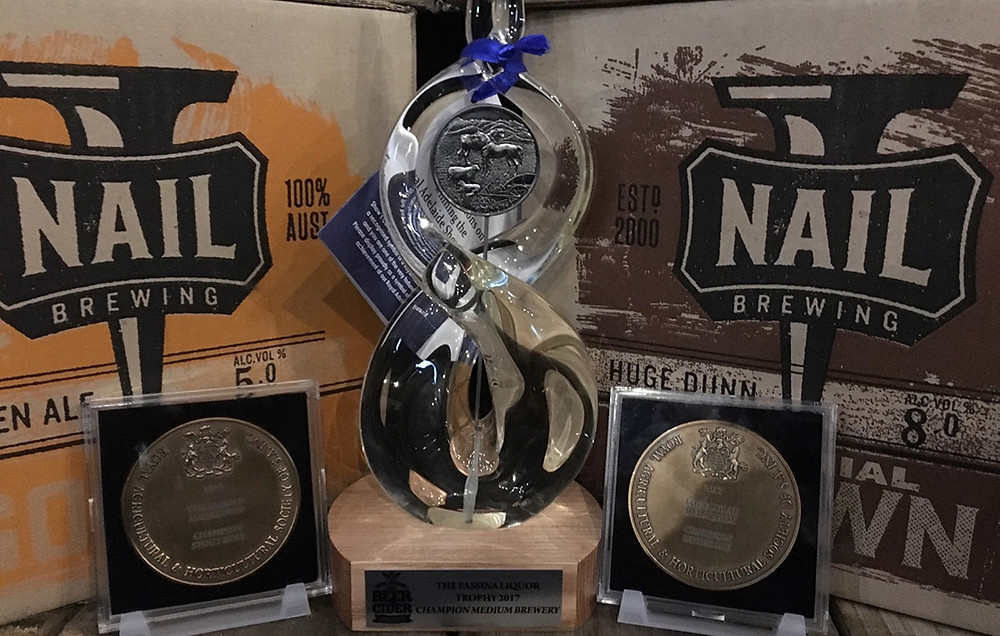 Nail Awards win. The Sip Beer