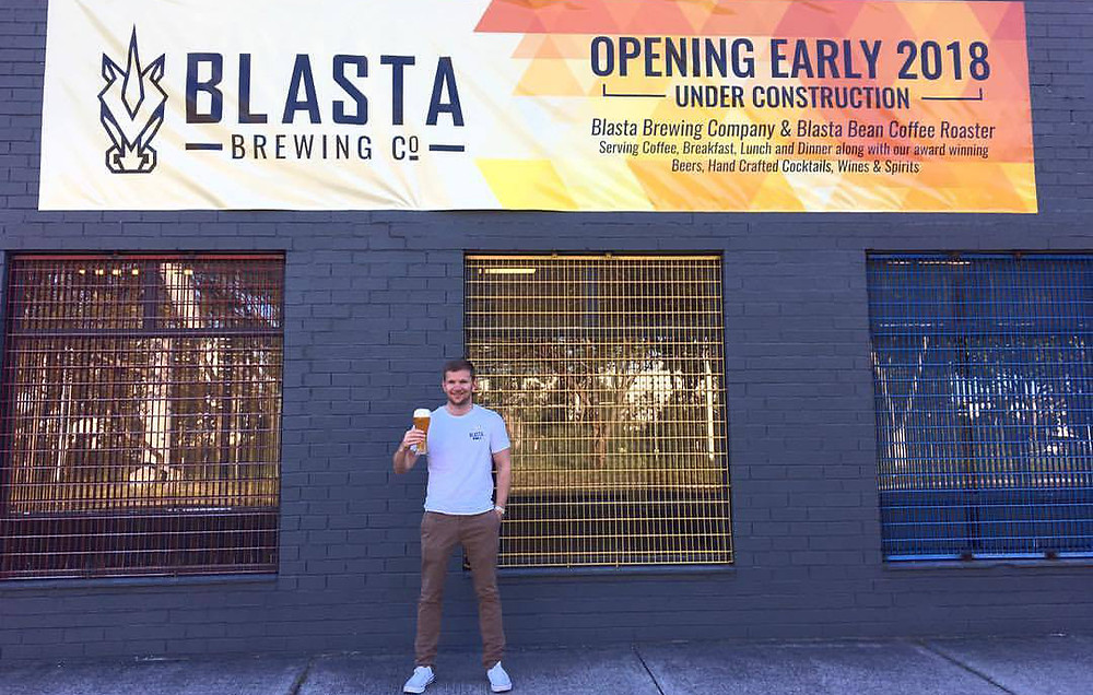 Blasta Brewing with Steve Russell.