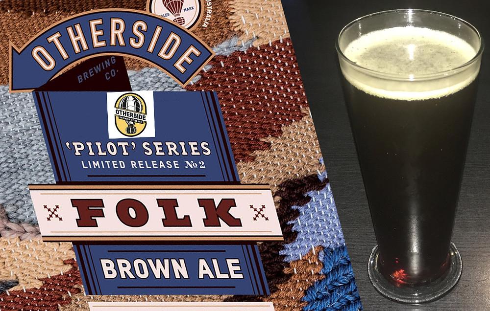 Otherside Folk Brown Ale The Sip Beer