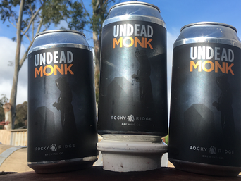 For this beer we are truly grateful, Undead Monk