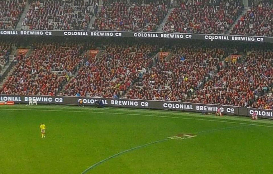 Colonial Brewing Company at MCG. The Sip