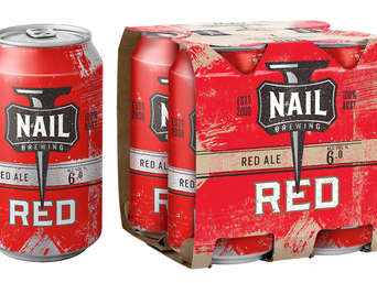 Nail Red Ale makes a striking move into cans