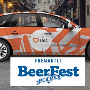 Travelling to Fremantle BeerFest as easy as DiDi