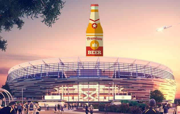 Perth Stadium beer contract.