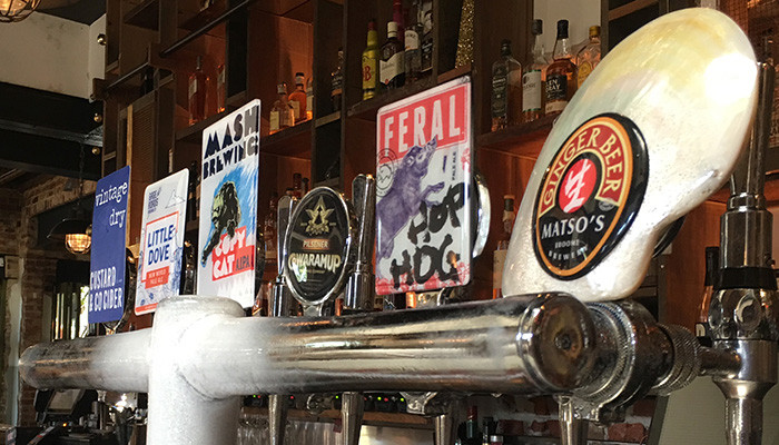 Queens Hotel tap line-up with The Sip