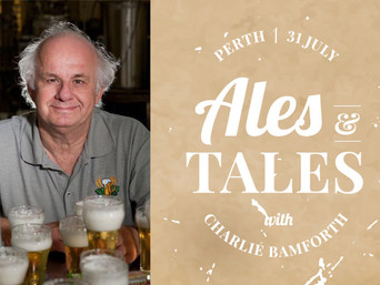 Hear beer from brew great Charlie Bamforth