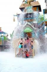 Splashed at Pirate's Cove