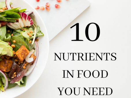 10 Nutrients in foods that you need if you want great Hair & Skin.