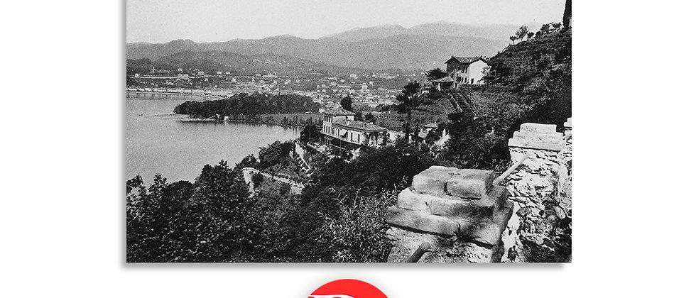 Lugano vista da Castagnola anno 1910 c.a.