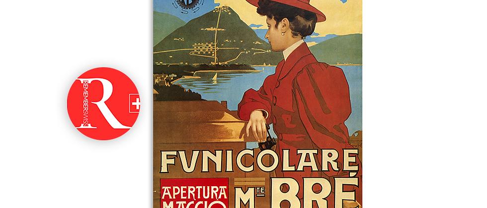 Funicolare monte Brè 1908