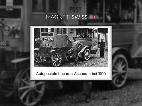 Autopostale Locarno-Ascona primi '900
